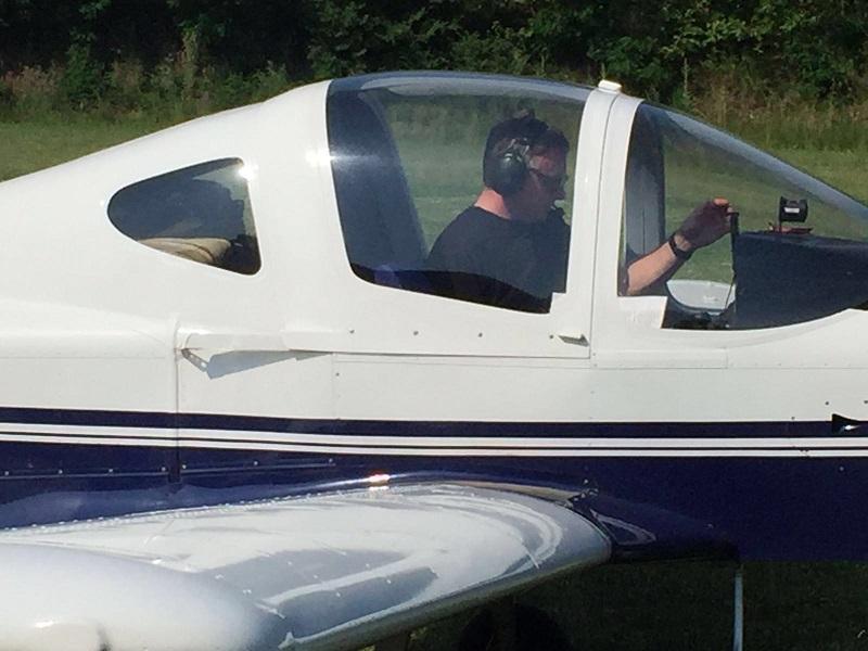 preparando el vuelo de la suelta