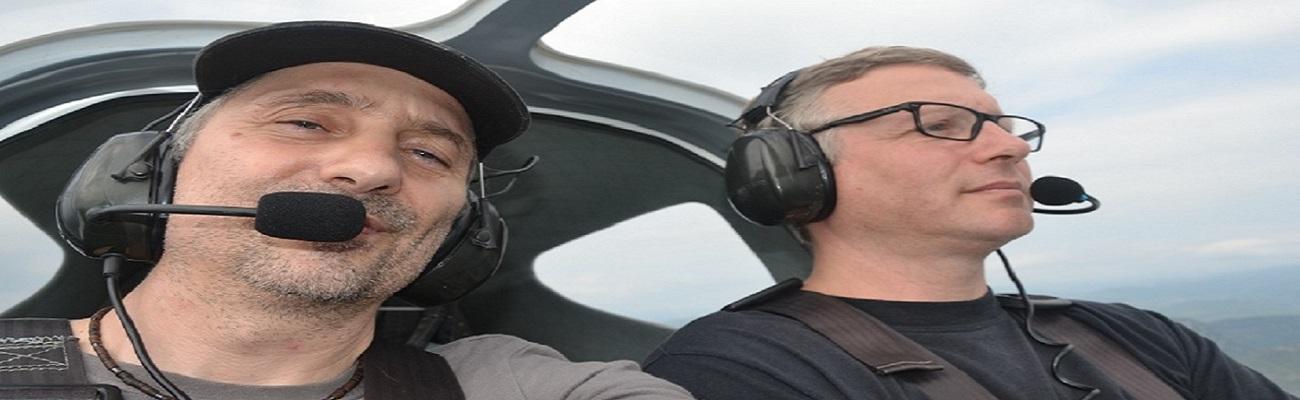 Primera travesía como piloto