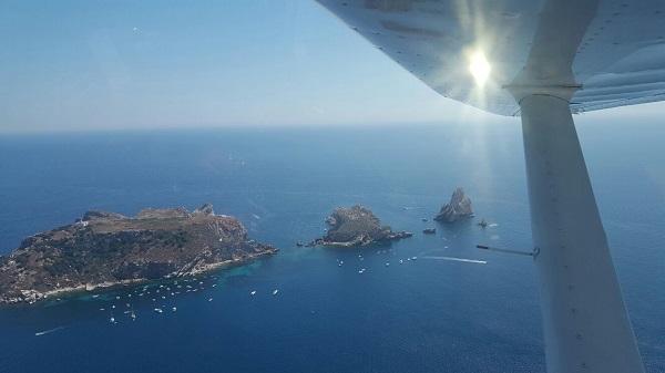 Vuelo Illes Medes