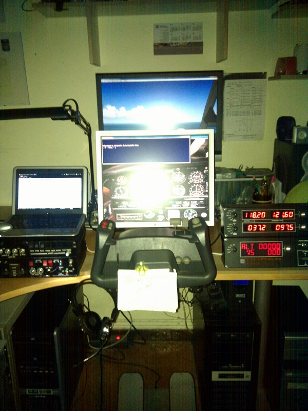 Cabina para el Flight Simulator