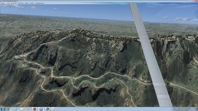 Mesh 72 metros para Flight Simulator