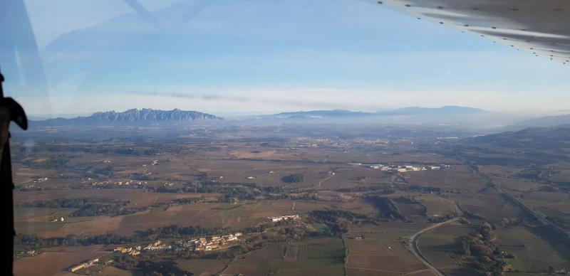 Montserrat vuelo a la cerdanya