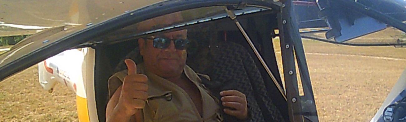 Volando con Juan Carlos a Binefar